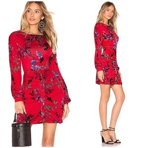 HOUSE OF HARLOW CB HOLIDAY DRESS STONE COLD FOX